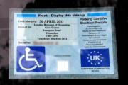Just 0.88 per cent of Blue Badges being used fraudulently handed in during amnesty