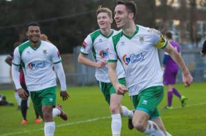 Bognor just two rounds from Wembley after Trophy win